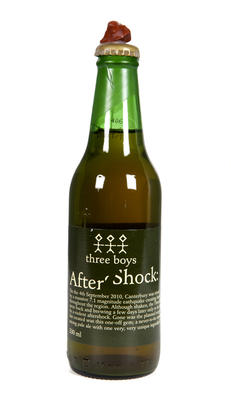 Aftershock Beer: Three Boys Brewery