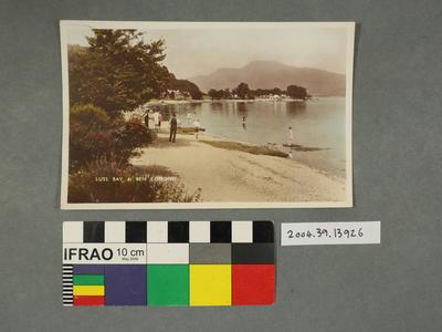 Postcard: Luss Bay and Ben Lomond