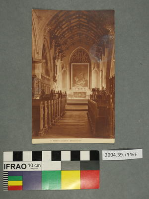 Postcard: St Mary's Church, Bridgwater
