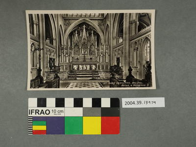 Postcard: St Mary Redcliffe, Bristol, Altar and Reredos