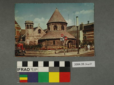 Postcard of the Round Church