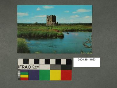 Postcard of Threave Castle
