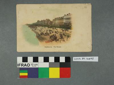 Postcard: Eastbourne, The Parade