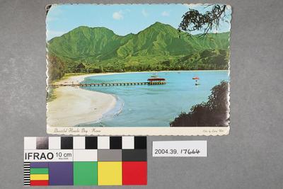 Postcard: Beautiful Hanalei Bay