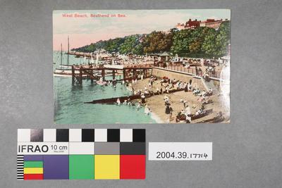 Postcard: West Beach, Southend on Sea