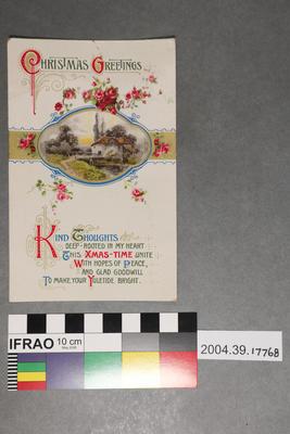 Postcard: Christmas Greetings