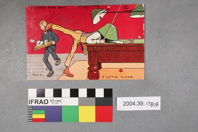 Postcard: Billiards Made Easy