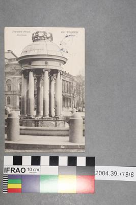 Postcard: Dresden-Neust