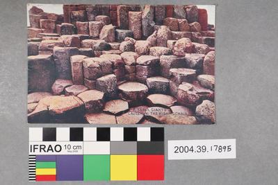 Postcard: Giant's Causeway