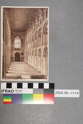 Postcard: Peterborough Cathedral