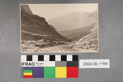 Postcard: Crag and Pass