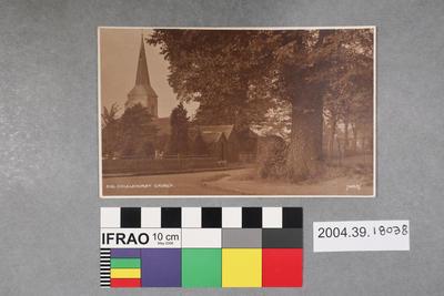 Postcard: Chislehurst Church