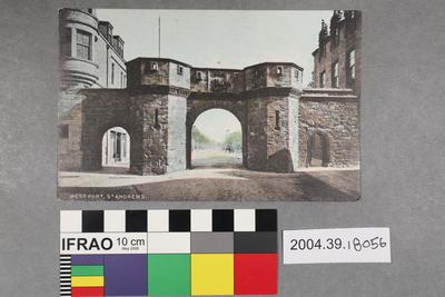 Postcard: West Port