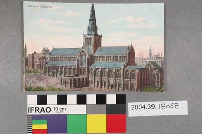 Postcard: Glasgow Cathedral
