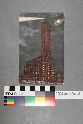 Postcard: Singer Building