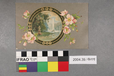Postcard: Circular picture
