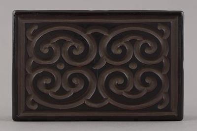 Lacquer: wood box