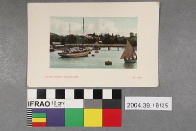 Postcard: River Scene
