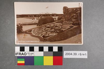 Postcard: The Floral Clock