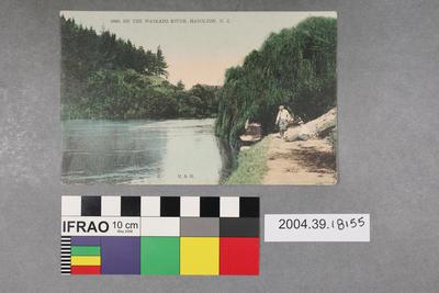 Postcard: On The Waikato River
