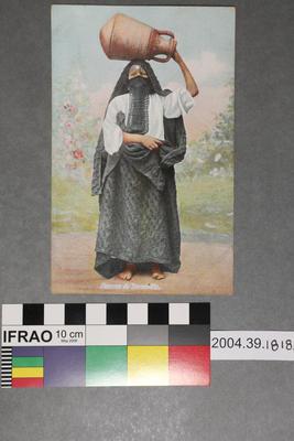 Postcard: Femme de Damiette