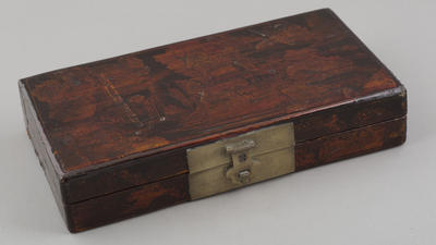 Wood: lacquered box