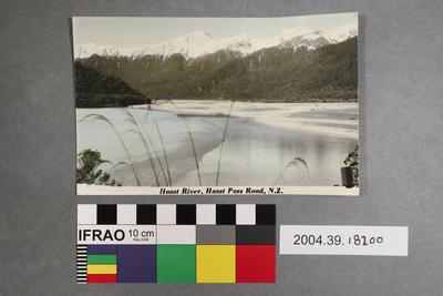 Postcard: Haast River