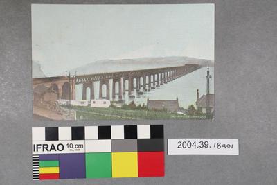 Postcard: Tay Bridge, Dundee