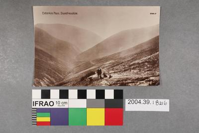 Postcard: Enterkin Pass, Dumfriesshire