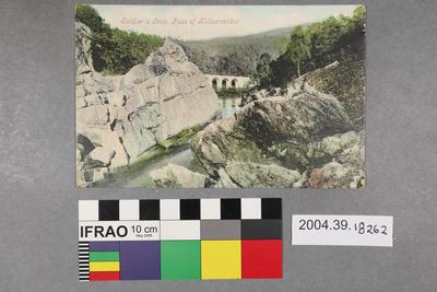 Postcard: Soldier's Leap, Pass of Killiecrankie