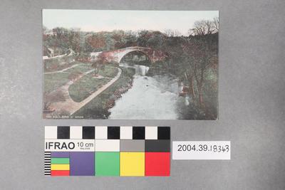 Postcard: The Auld Brig O' Doon