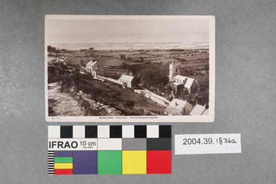 Postcard: Kewstoke Village