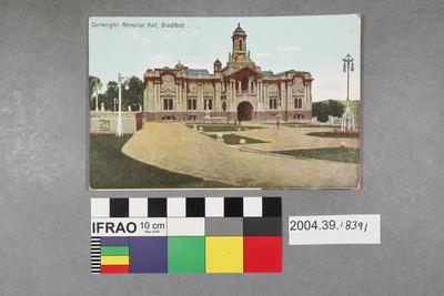 Postcard: Cartwright Memorial Hall