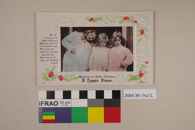 Postcard: A Happy Xmas
