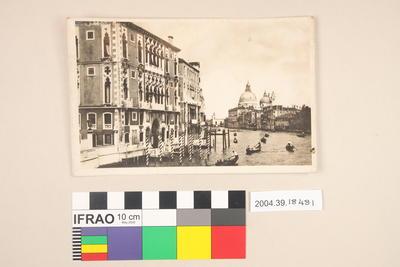 Postcard: Venice Canal