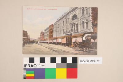 Postcard: High Street, Christchurch, New Zealand