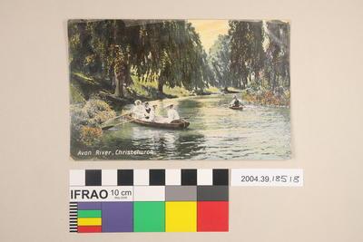 Postcard: Avon River, Christchurch
