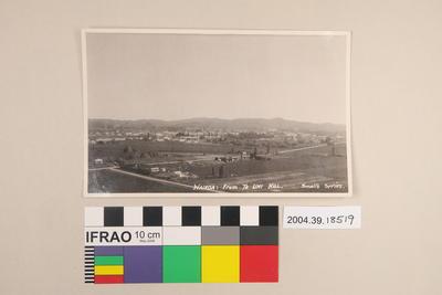 Postcard: Wairoa from Te Uhi Hill