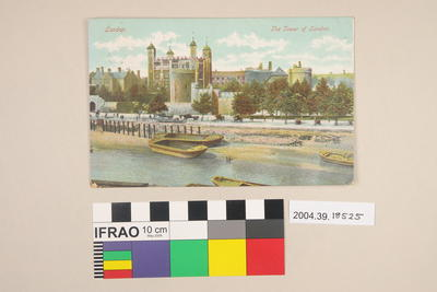 Postcard: The Tower of London