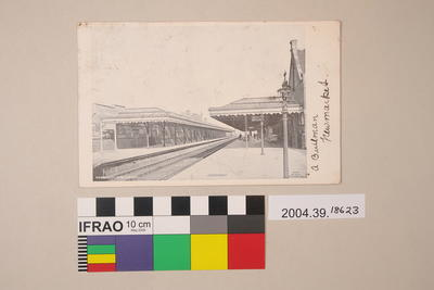 Postcard: Newmarket, New Station