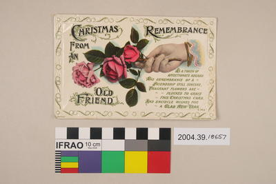 Postcard: Christmas Remembrance from an Old Friend