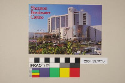 Postcard: Sheraton Breakwater Casino