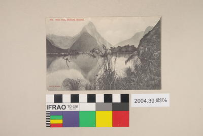 Postcard: Mitre Peak, Milford Sound