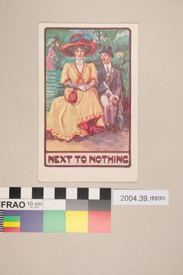 Postcard: Next to Nothing