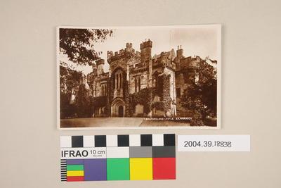 Postcard: Craufurdland Castle, Kilmarnock