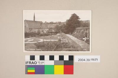 Postcard: The Gardens, Stroud
