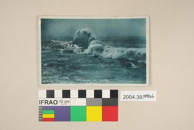 Postcard: Breaking on Shore