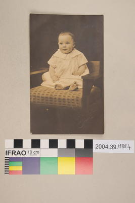 Postcard of a baby