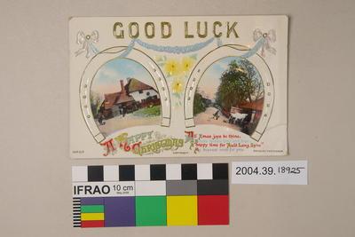 Postcard: Good Luck