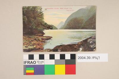 Postcard: Breaksea Sound, West Coast, New Zealand